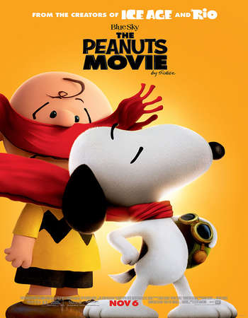 Poster Of The Peanuts Movie 2015 English 300MB BRRip 480p Free Download Watch Online