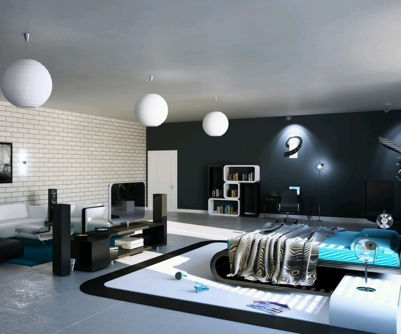 Desain Tempat Tidur Minimalis Modern Wallpaper Dinding