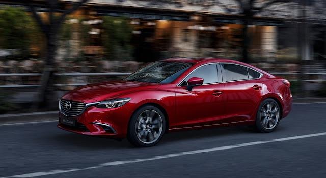 2016 Mazda 6 soul red