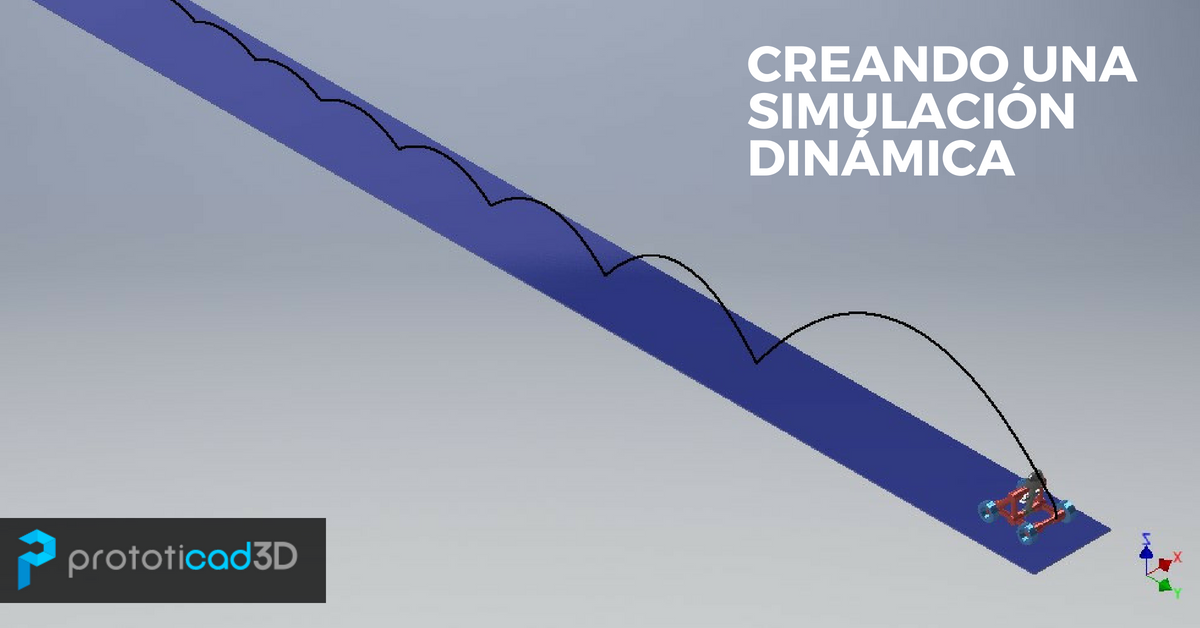 Creando una Simulación Dinámica con Inventor