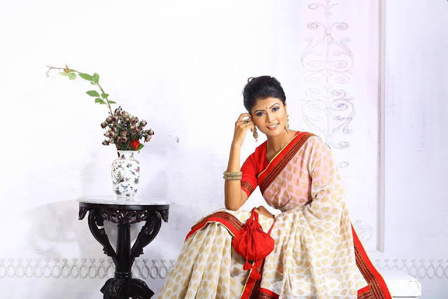 Mumtaheena Chowdhury Toya In Saree