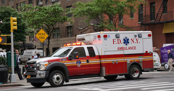 Ambulance in New York City