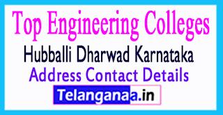 Top Engineering Colleges in Hubballi Dharwad Karnataka