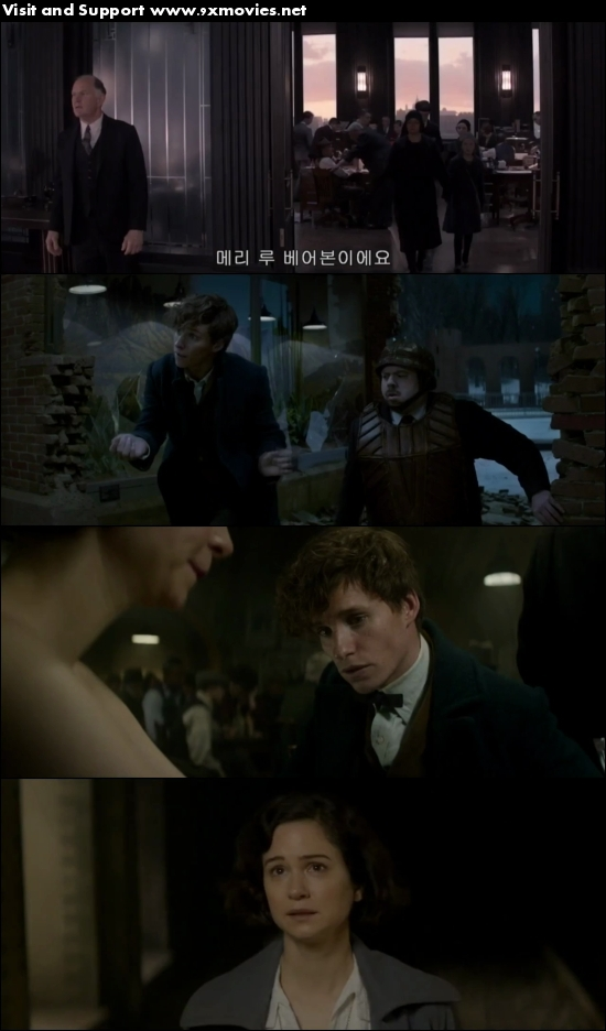 Fantastic Beasts And Where To Find Them 2016 Dual Audio Hindi 480p HDRip