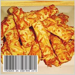 Palitos de queijo parmesão assados