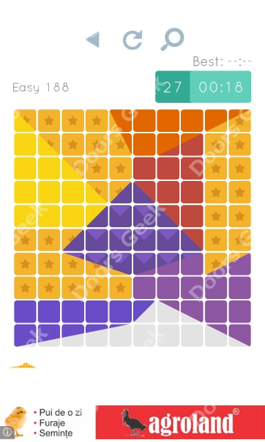Cheats, Walkthrough for Blocks and Shapes Level 188