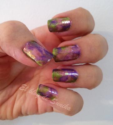 manicura marmolado