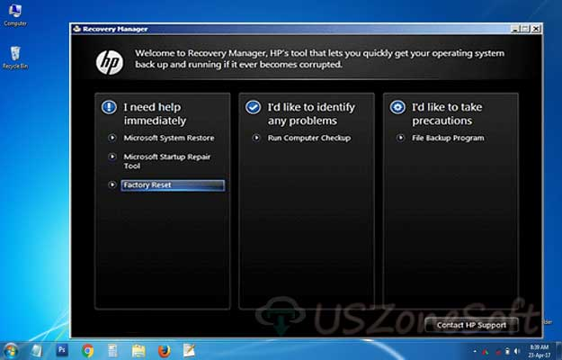 Download HP Recovery Manager Windows 10 Free Latest Version ~ USZoneSoft