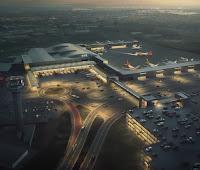 luton airport redevelopment cgi