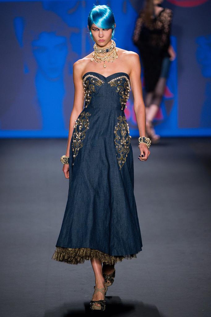 Anna Sui RTW Spring 2013 New York Fashion Week