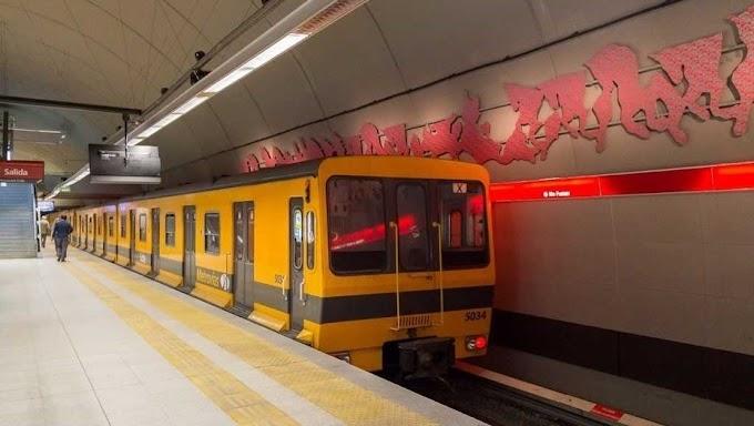 Linea B: sacan de circulación trenes porque tienen material cancerígeno