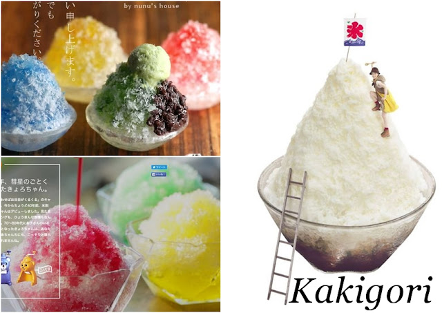 Kakigori, o sabor do verão.