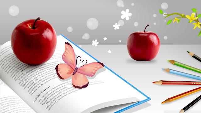buah apel merah