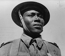 WW2 soldier from Chad -Free French infantryman 1942