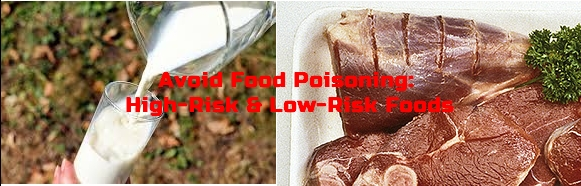 Avoid Food Poisoning: High-Risk & Low-Risk Foods