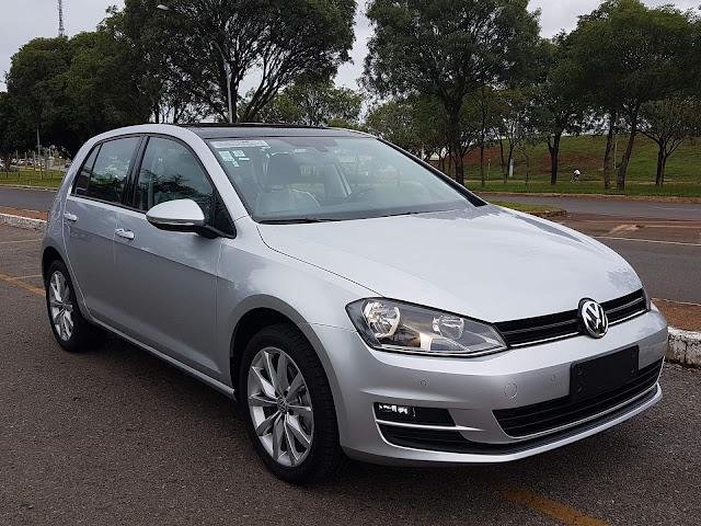 VW Golf 1.6 MSI Automático Flex - preço