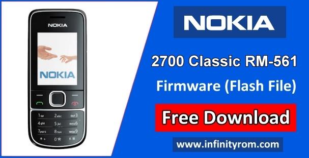 Nokia 2700 Classic Rm 561 Flash File V9 98 Mcu Ppm Cnt
