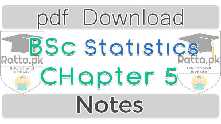 Bsc Statistics Chapter 5 index Numbers Notes pdf
