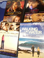 dvd haul Dollar Tree movies Edge of Love, Elegy, Sleepwalking, Walking on Water