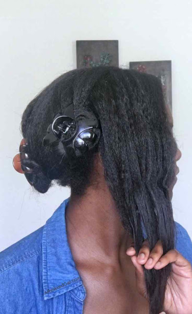 How to finger detangle your relaxed hair | A Relaxed Gal