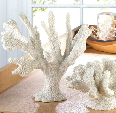 Self Standing White Coral