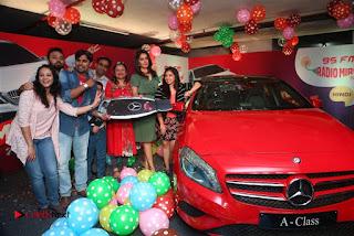 Raashi Khanna at Mirchi 95 Suno Mercedes Jeeto Contest Stills  0051.jpg