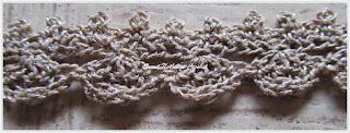 free crochet choker neckwear pattern
