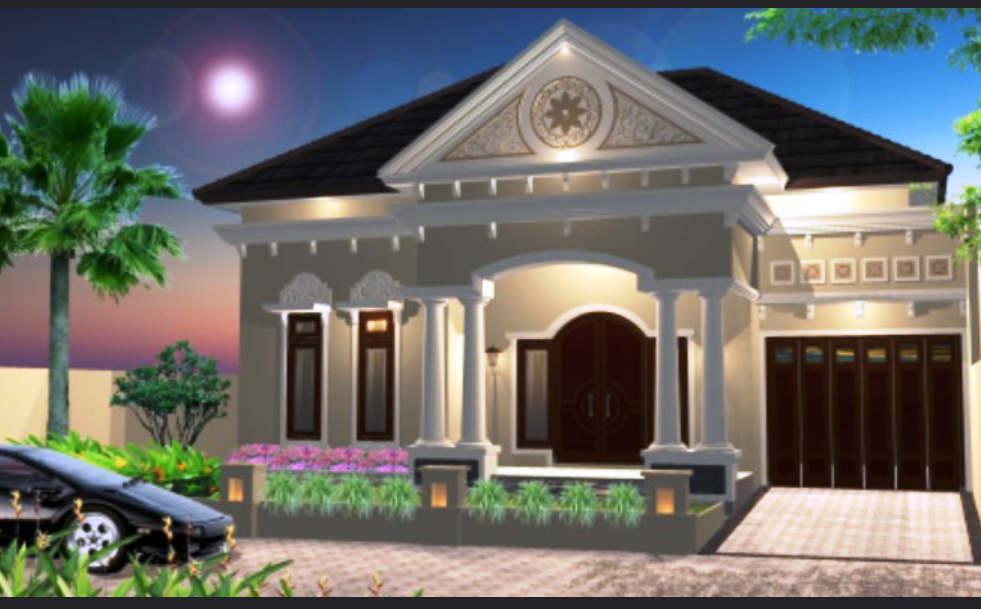 Desain Rumah Mewah 1 Lantai & ⊕ 56+ desain rumah mewah 1 lantai \u0026 lantai modern minimalis terbaru