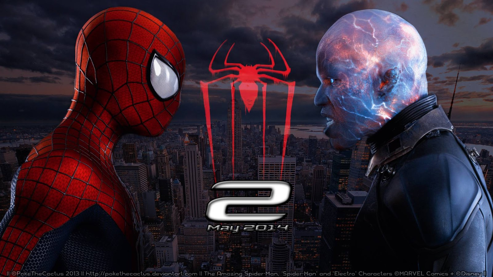Download The Amazing Spider-Man 2 (2014) BluRay 720p Subtitle Indonesia