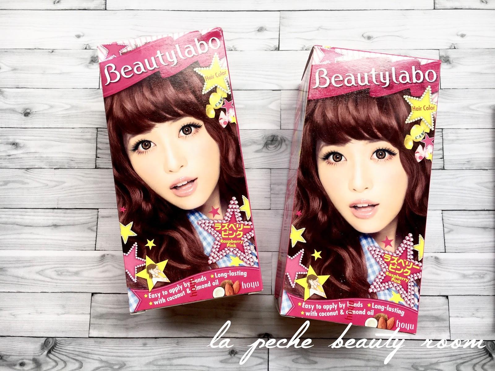 Beautylabo Hair Dye Raspberry Pink Review La Peche Beauty Room