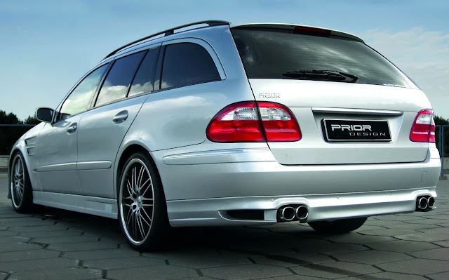 mercedes s211 body kit prior design