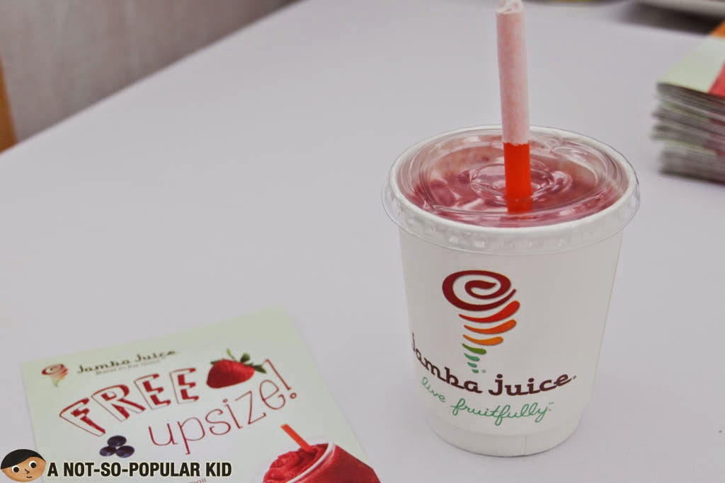 The refreshing smoothie of Jamba Juice perfect to combat the extreme heat