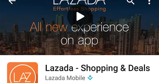 Shopping at Lazada App & Pay Easy with MOLPay