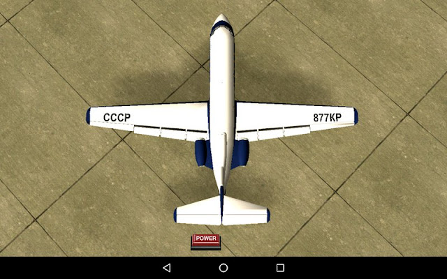 Yakovlev Yak-40 Airplane for GTA SA Android top view