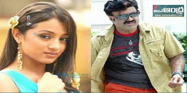 Trisha with Balakrishna