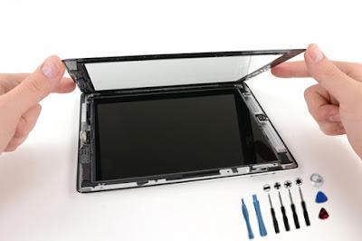 Màn hình iPad 3 được thiết kế nhỏ gọn