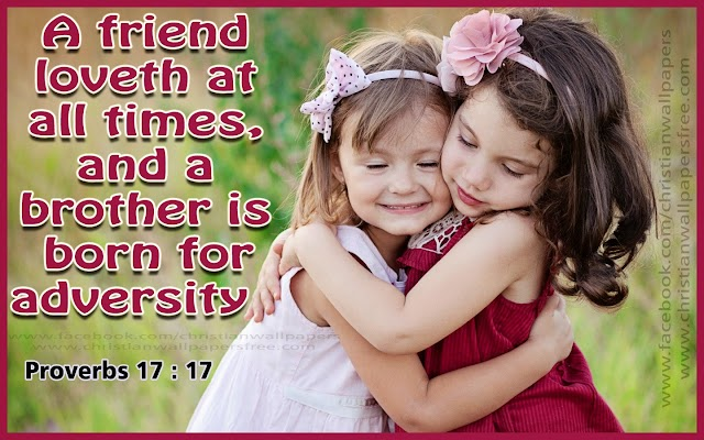 Friendship Bible Picture Quote