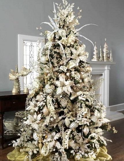 Mi casa con estilo rboles de navidad 2016 - Arboles de navidad blancos ...