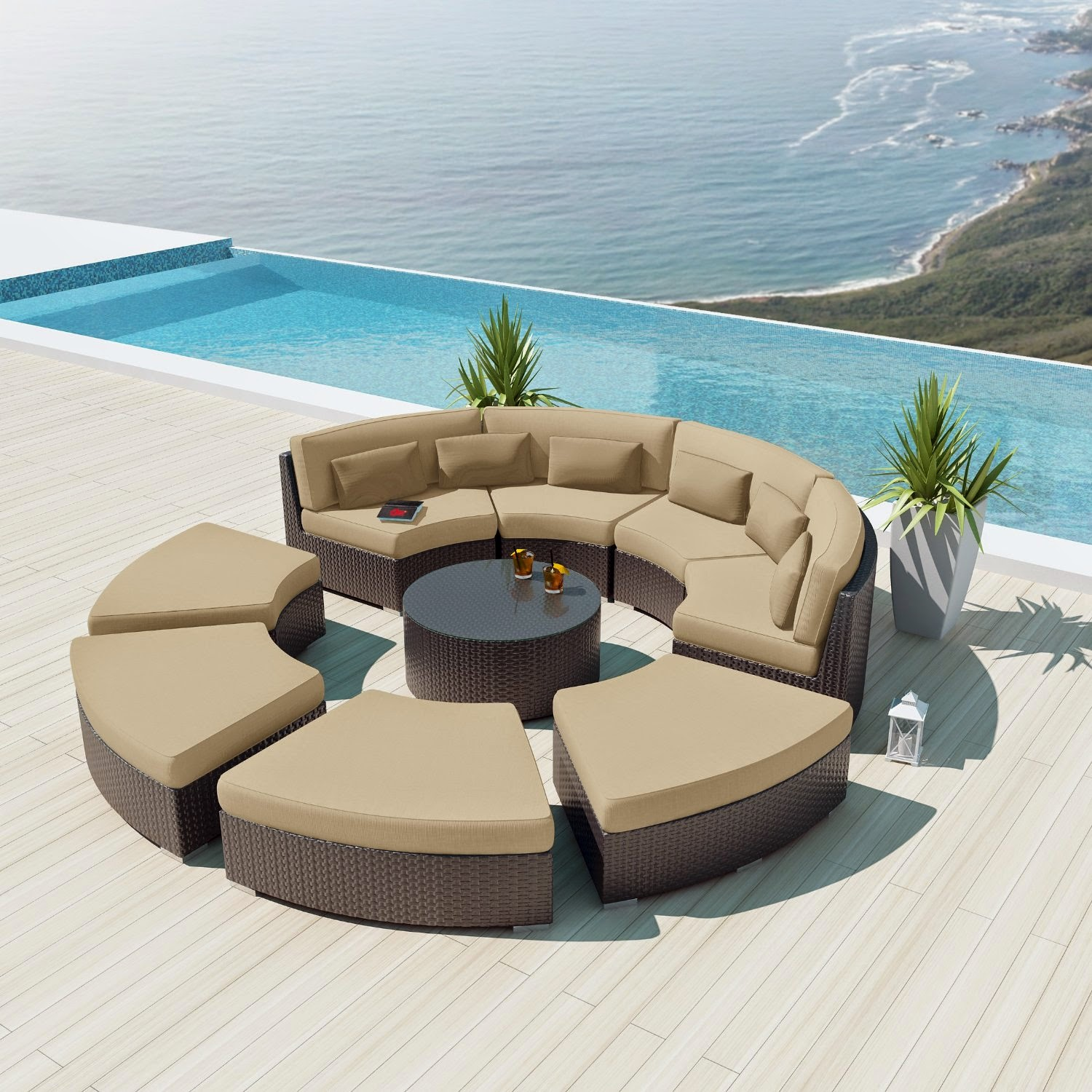 Top Seller Curved Sofa Website Curved Modular Sectional Sofa