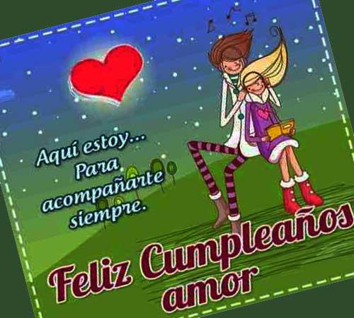 Feliz Cumpleanos Mi Amor Saludos De Cumple Para Tu Pareja