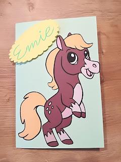 carte invitation anniversaire poney