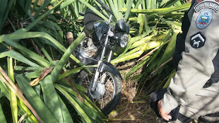 Polícia Militar de Nova Floresta recupera mais um veículo roubado