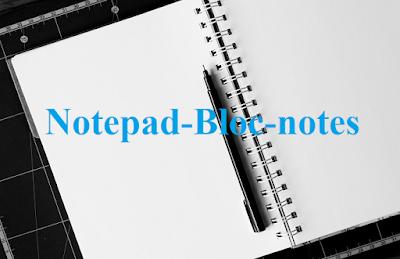 الطريقة السليمة والبسيطة لتثبيت اللغة العربية على المذكرة  Notepad أو Bloc-notes
