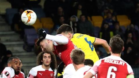 BATE Borisov 1-0 Arsenal: Twitter Meltdown as Gunners See Red on Valentine's Day