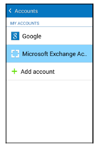 Synchronize an Exchange ActiveSync Calendar