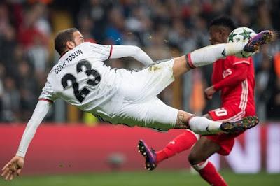 Tahan Seri Monaco, Besiktas di Ambang 16 Besar Liga Champions