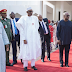 President Buhari Arrives Gambia For Peace Talks With President Jammeh - Photos