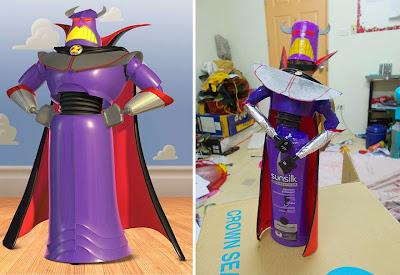 Disfraz de Emperador Zurg cosplay