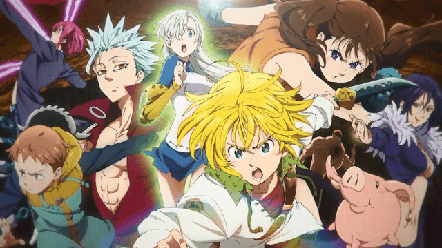 Anime Nanatsu no Taizai: Revival of the Commandments