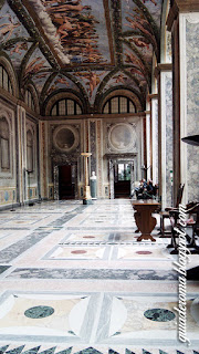 Villa Farnesina loggia amore psique - Villa Farnesina - afrescos